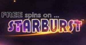 Starburst darmowe spiny