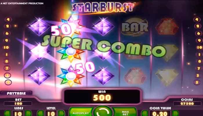Starbursst free spins slot
